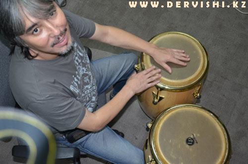 Ермек Дияров, ударные инструменты